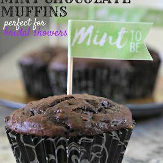 Mint Chocolate Muffins.