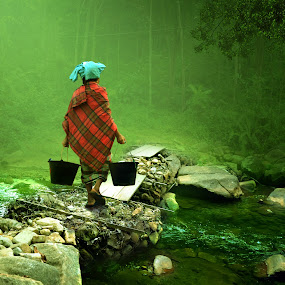 Sendiri by Cucu Fuang - Digital Art People ( photogrphy )
