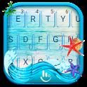 Seaside Wave Keyboard Theme icon
