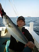 Photo: ヒラスでしたー! 間違いなく釣りますね!