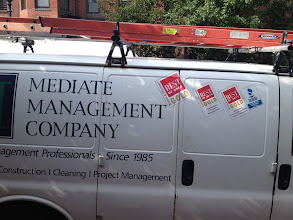 Photo: Mediate Management Company in Boston, MA proudly displaying their BBB Accreditation
