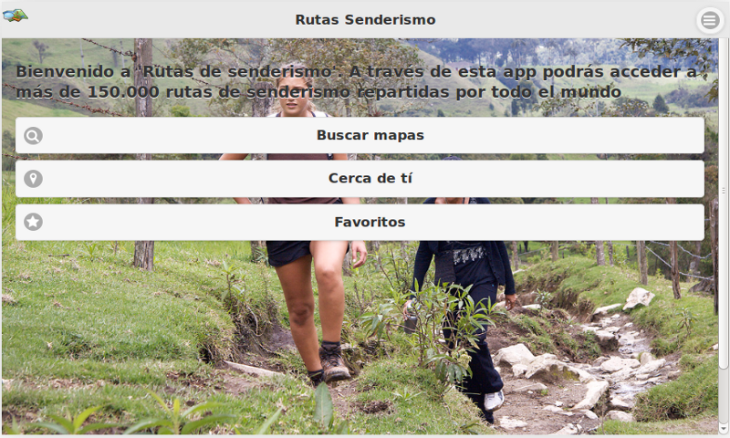 Rutas Senderismo Tablets- screenshot