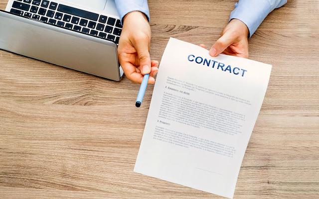 Hợp đồng cho thuê máy photocopy gồm thông tin về máy photocopy, phương thức thanh toán…