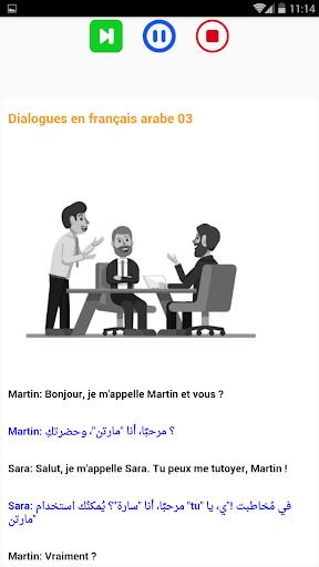 Je M Appelle En Arabe : appelle, arabe, Download, Dialogues, Français, Arabe, Débutant, Android, STEPrimo.com