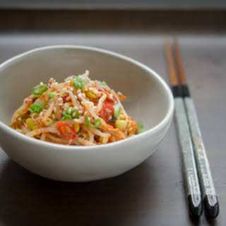 Spicy Bean Sprout Salad.