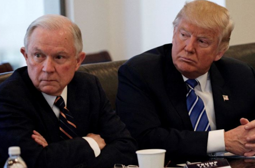 Trump confirms 'witch hunt' underway against him