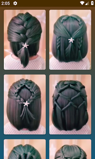 Hairstyles for short hair screenshot 4