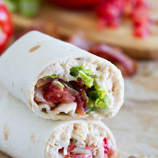 BLT Ranch Chicken Wraps Recipe