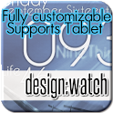 design:watch widget&clock icon