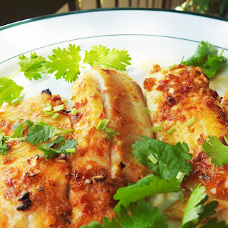 Roeated Thai Chili Lime Fish.