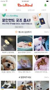 포인핸드 -유기동물 입양&실종동물 찾기(유기견,유기묘) - náhled