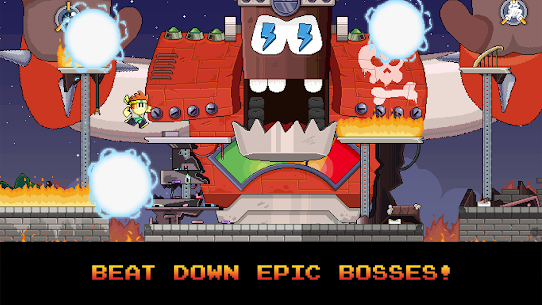 Dan the Man: Action Platformer Mod 1.2.93 Apk [Infinite Money] 2