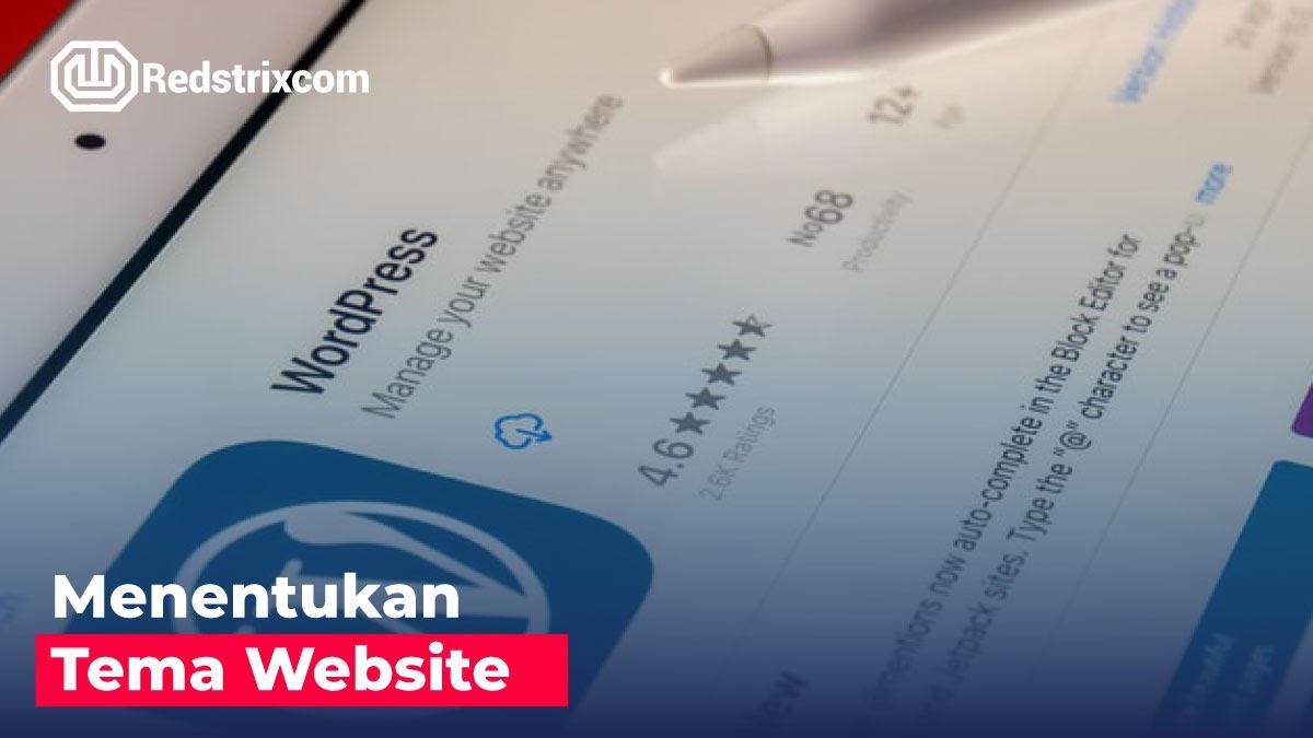 menentukan-tema-website