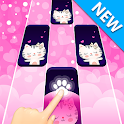 Dream Cat Piano Tiles: Free Tap Music Game icon