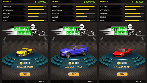 Street Racer Pro: 3D Car Racing Game 1.1.3 screenshots 3