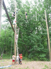 Photo: High Ropes Course at Camp Toccoa