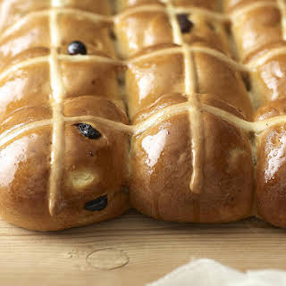 Traditional Hot Cross Buns.