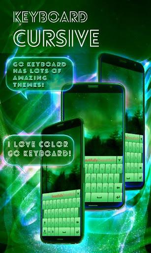 無料个人化Appの筆記体のキーボード|記事Game