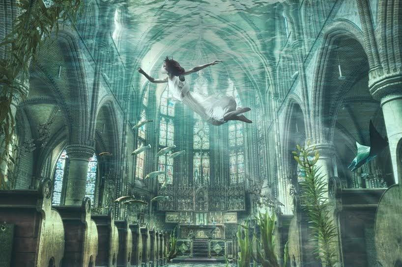 Esta prenda anfibia esta diseñada para sobrevivir en un mundo inundado por agua