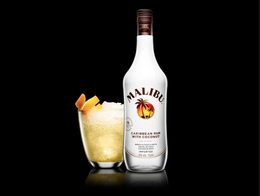 Malibu's Coconut flavored Liquor is one of the best rum brands in india