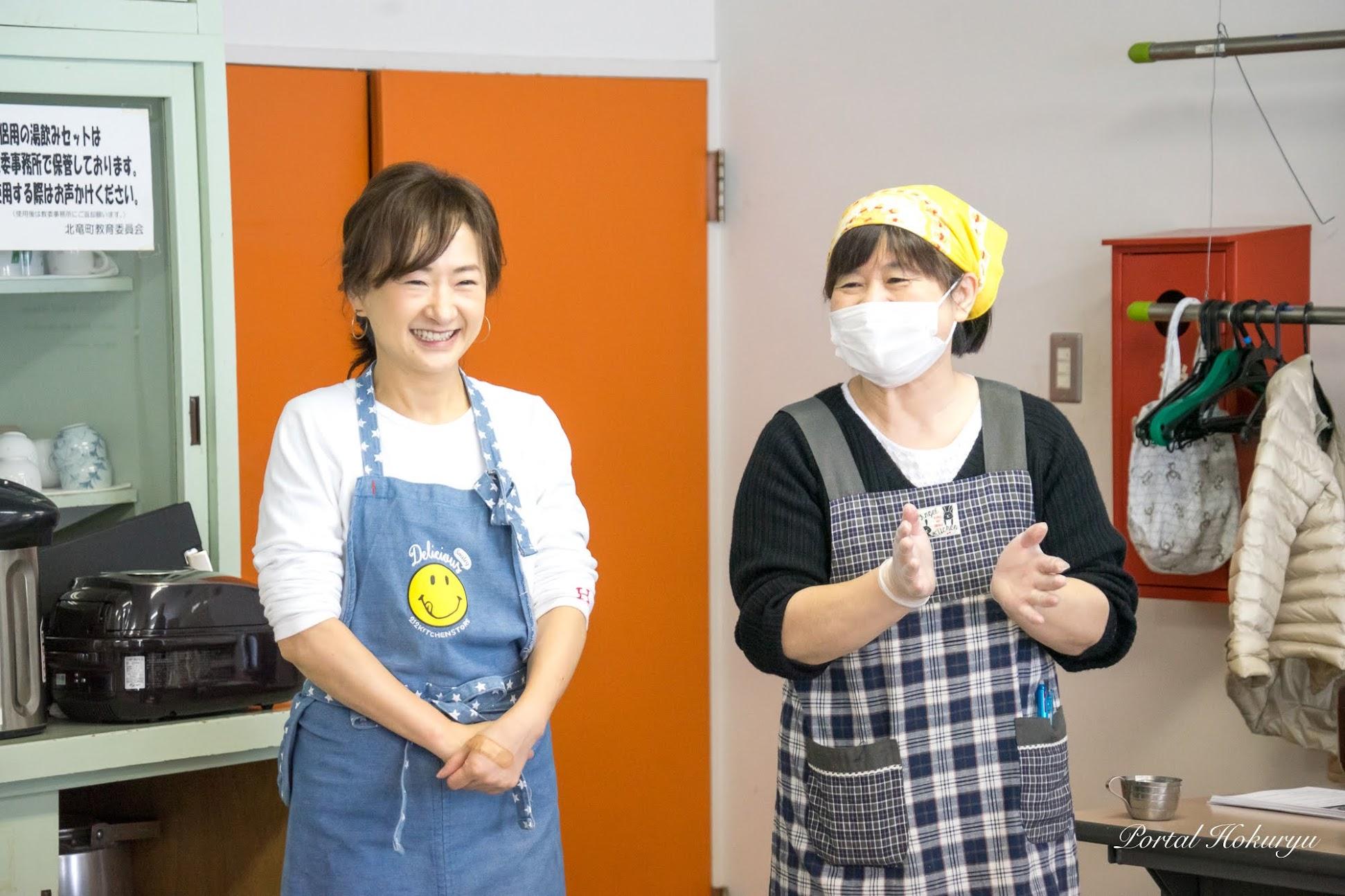 杉山恵理子さん(北竜町役場住民課・栄養士)