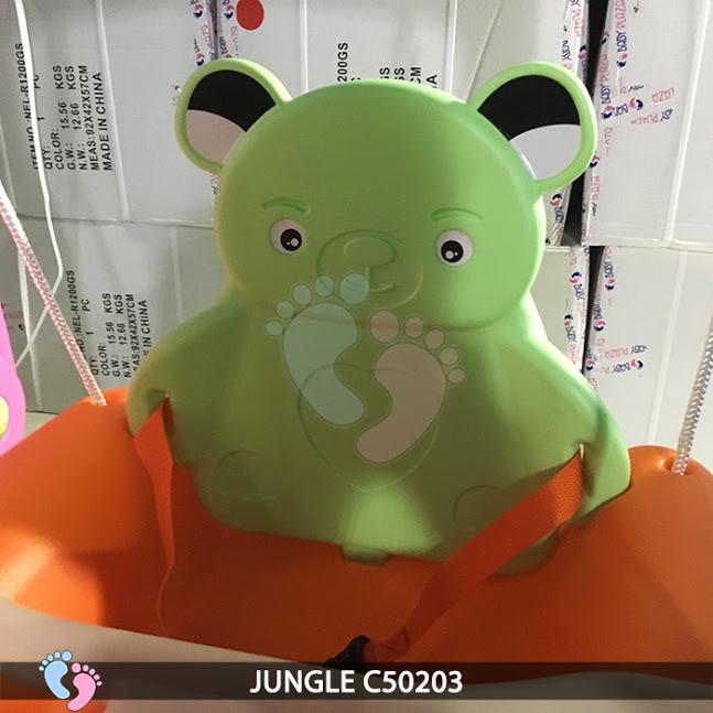 Cầu trượt cho bé 3 in 1 Jungle C50203 5
