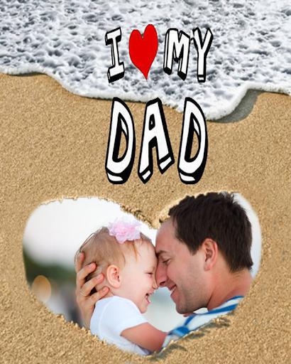 無料通讯Appの父の日フレーム|HotApp4Game