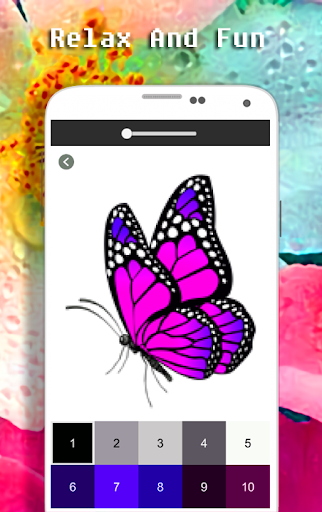 Butterfly Coloring Book - Color By Number apkdebit screenshots 4