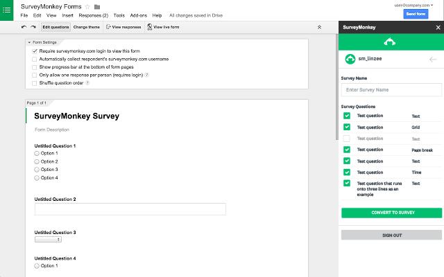 SurveyMonkey - Google Workspace Marketplace