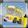 تلوين الحافلة الصغيرة تايو APK