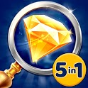 Hidden Objects Games - 5 in 1 icon