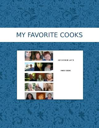 MY FAVORITE COOKS