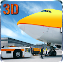 Airport Plane Ground Staff 3D icon