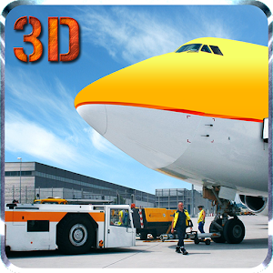 Airport Plane Ground Staff 3D for Blackberry logo