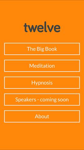 android Twelve - AA Big Book Screenshot 0