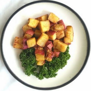 Roasted Oriental Sweet Potatoes