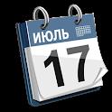 Календарь в строке состояния icon