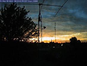 Photo: WB9OTX at Sunset