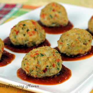 Confetti Turkey Meatballs
