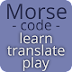 Morse code - learn and play Android apk