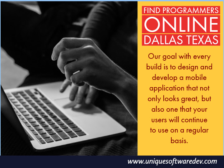 Find Programmers Online Dallas Texas