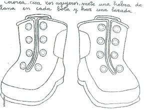 Photo: atarse zapatos