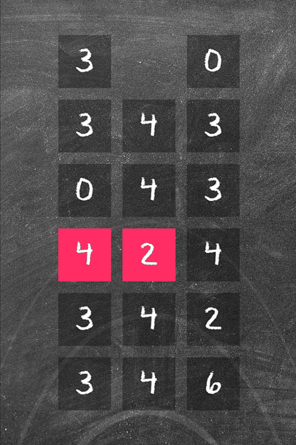 Number Quest Escape from Chalk- screenshot