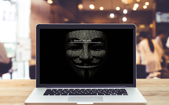 Anon Mask HD Wallpapers Theme