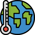 Thermometer -Temperature, Humidity, Barometer, Map icon