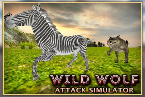 Wild Vlk útok Simulator 3D - náhled
