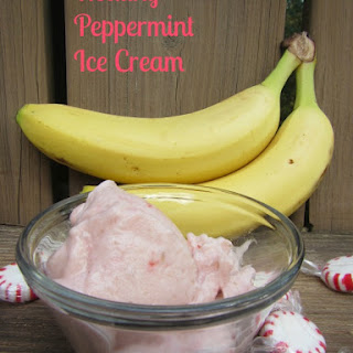 Healthy Peppermint Ice Cream.