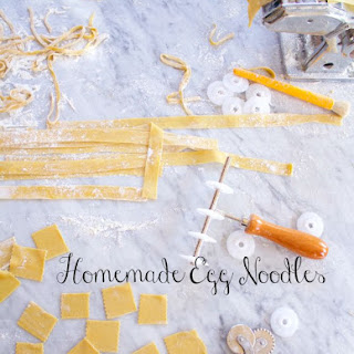 Egg Noodle Recipe AKA Egg Pasta