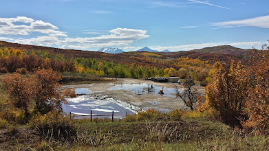 Photo: The Gunnison National Forest and Pilot Knob roadless area are already threatened by encroaching drilling on private lands, like the well pad pictured here that failed its last state inspection on Oct. 1, 2013 (COGCC Doc. # 670200918).