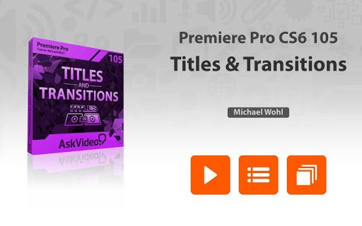 Titles Course For Premiere Pro